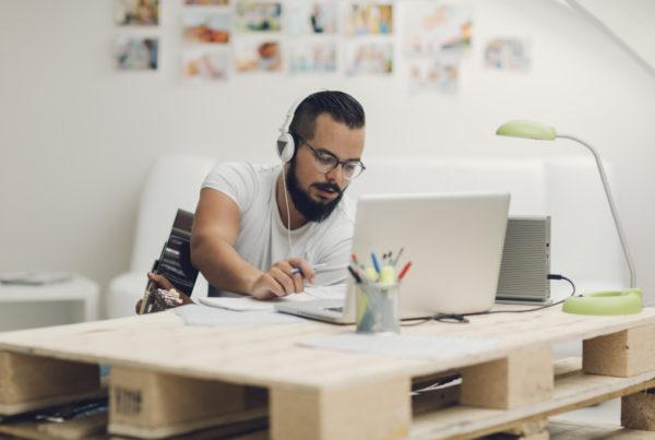 Man-Working-In-His-Recording-Studio