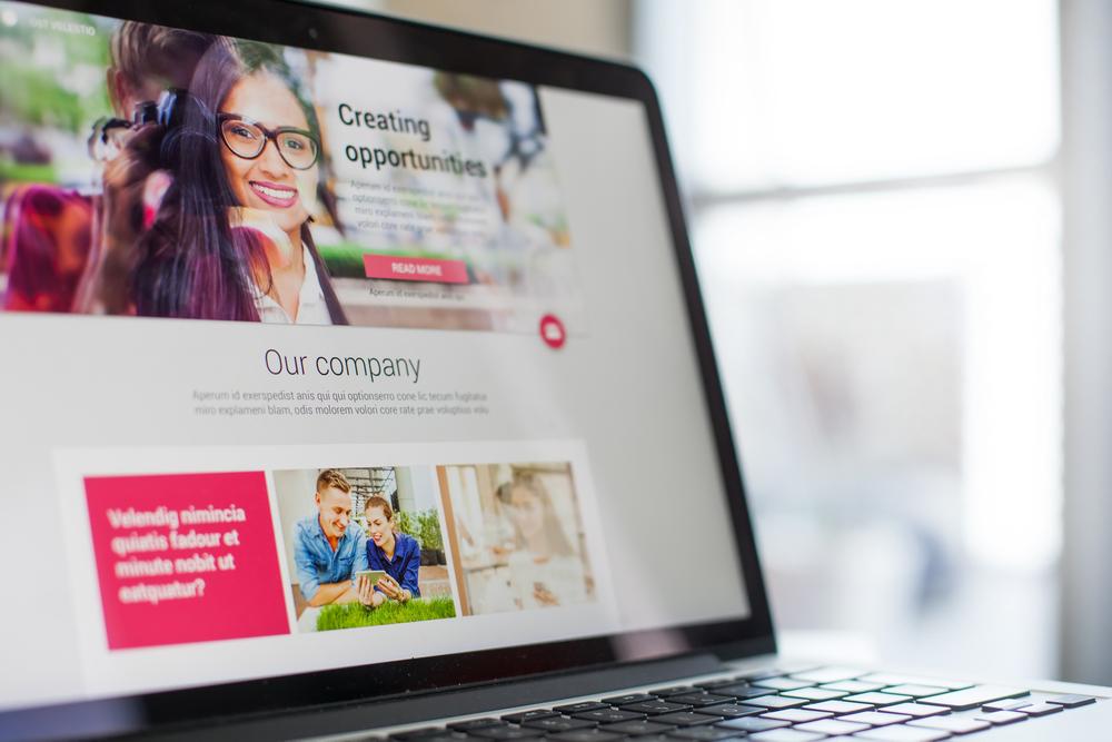 Freelancer providing links to website portfolios